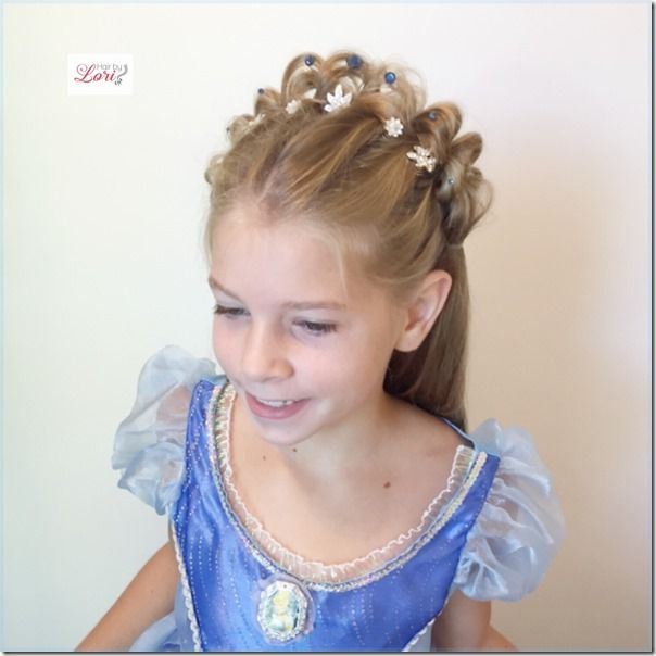 princess tiara braid braided