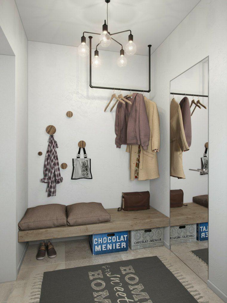 Aménager un studio  intérieurs design de moins de 30m2 Hall