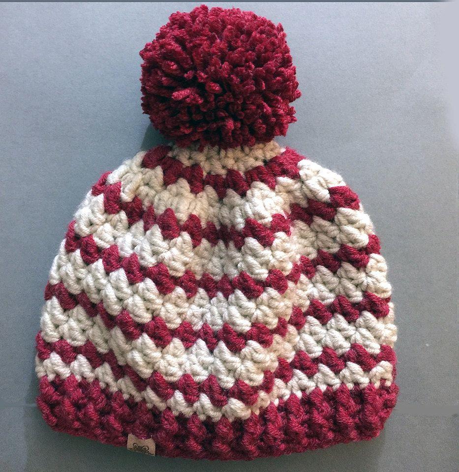 CROCHET BEANIE PATTERN Crochet Rainer Beanie Hat Pattern - Sizes ...