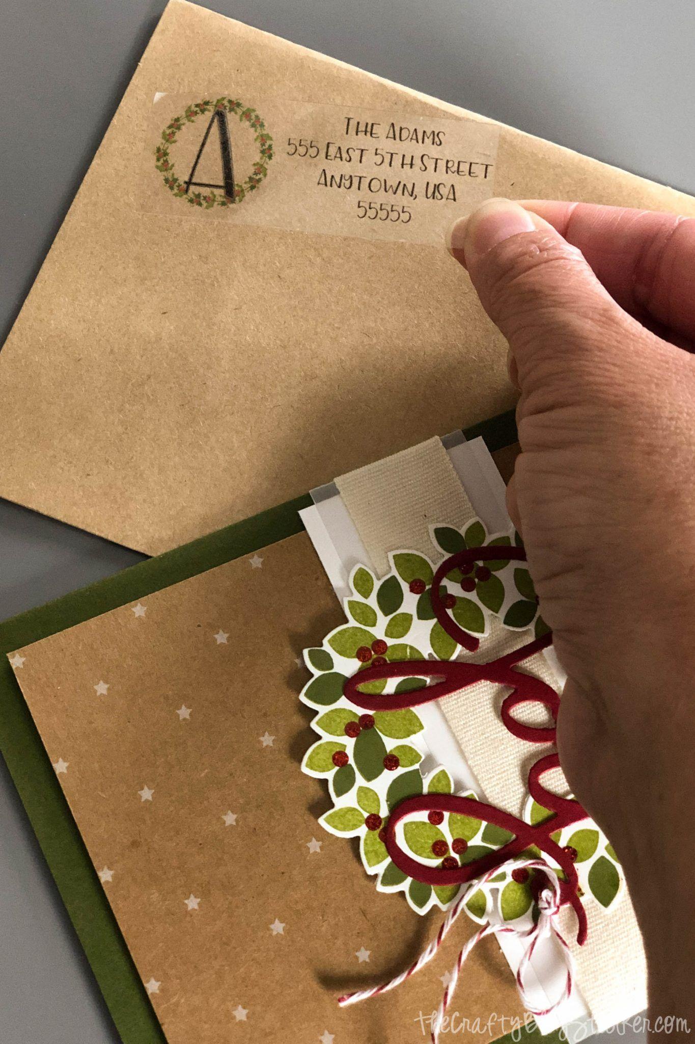 Diy return address labels with cricut mason jar crafts