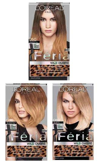 L Oreal Paris Feria Wild Ombre Highlights Works Fabulous And Just Under 15 Another Cosmo Trick Of Mine I Got Bett Hair Kit Ombre Hair Feria Hair Color