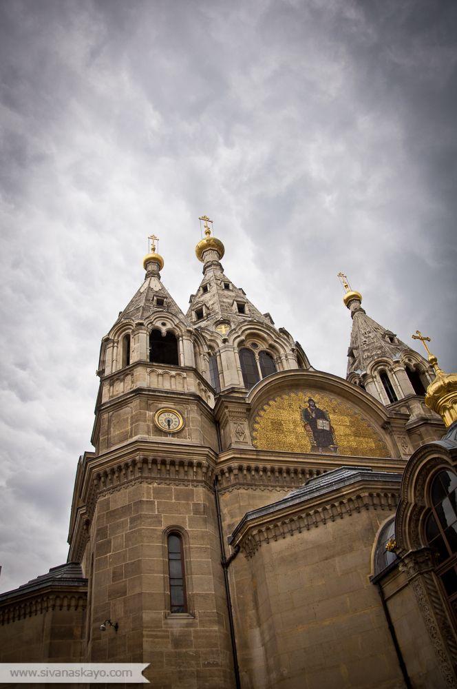 Cathédrale Saint-Alexandre-Nevsky by Sivan Askayo