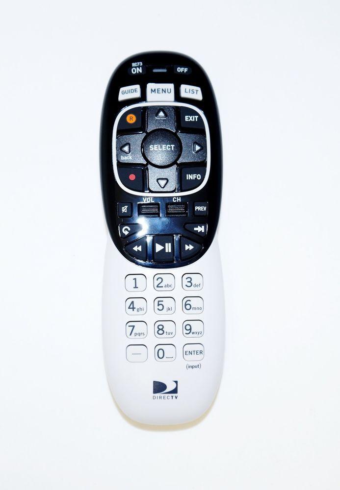 DIRECTV RC73 IR/RF TV REMOTE CONTROL MORE CODES GENIE