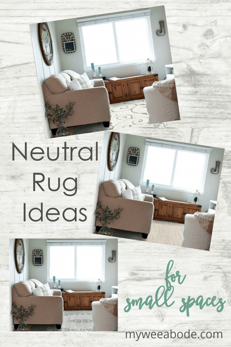 Neutral Rug Ideas For Small Spaces My Wee Abode Small Spaces Neutral Rugs Home Decor