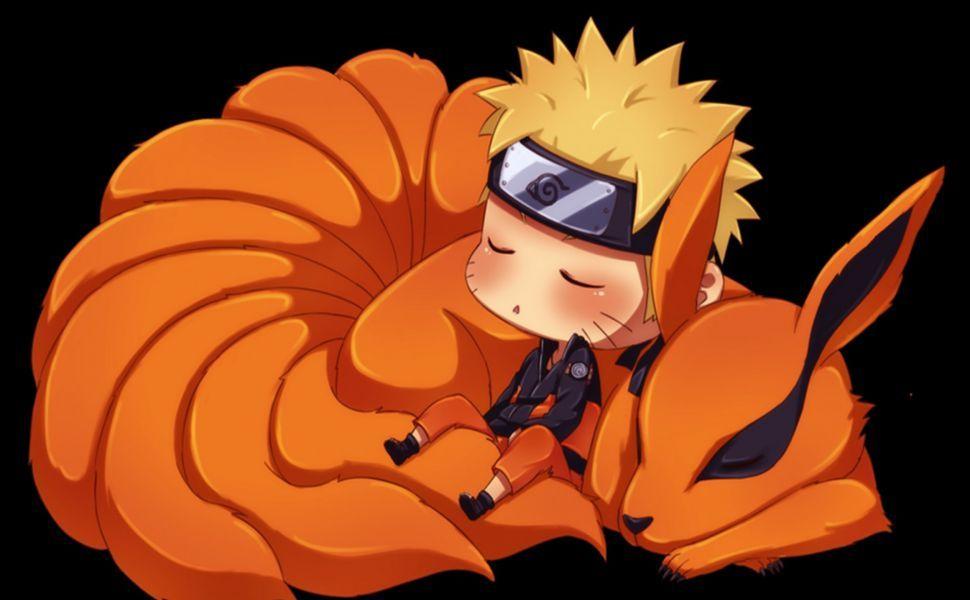 Kurama Naruto Chibi Hd Wallpaper Animasi Naruto