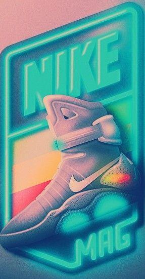 Nike Air Mag Logo   Ritorno al futuro, Futurismo, Sfondi  AnTwao