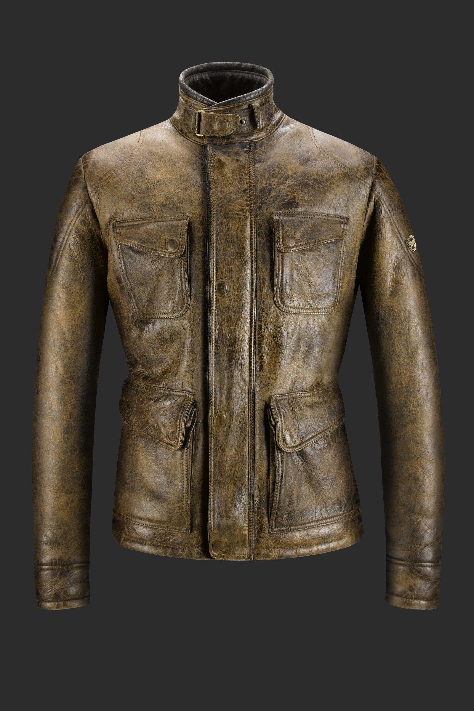 34 shearling jacket for men fulham jacket antique cuero matchless london