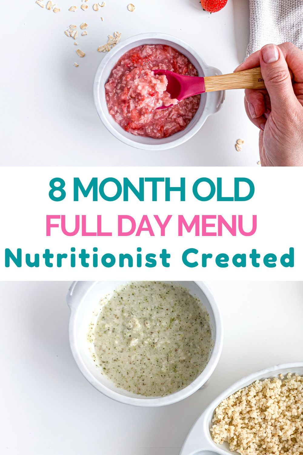 8 Month Old Meal Plan - Nutritionist Approved | Creative ...