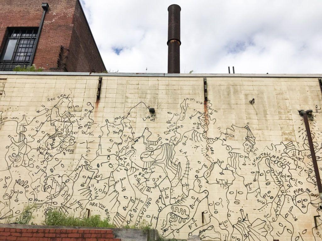 Rolf & Daughters Mural | Nashville Guru Mural by Shantell