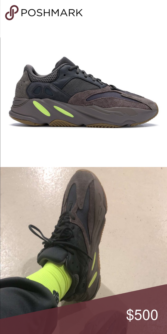 d80363fa Yeezy 700 Adidas Mauve Yeezy adidas 700 in mauve color. New. Never worn.  Purchased online at adidas.com. Yeezy Shoes Sneakers