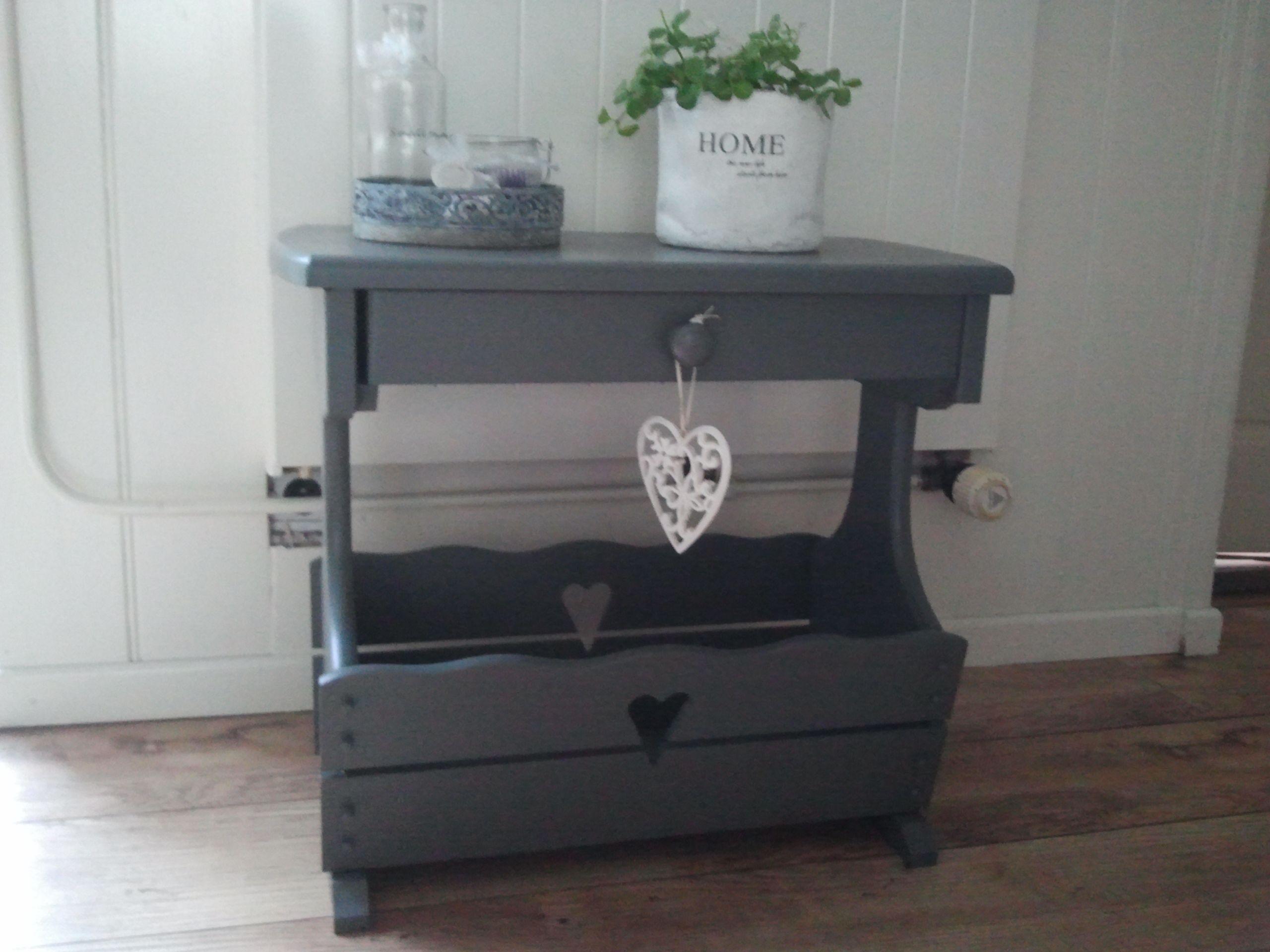 Oude krantenbak geverfd woonaccessoires pinterest meubels kasten en tv - Oude griekse decoratie ...