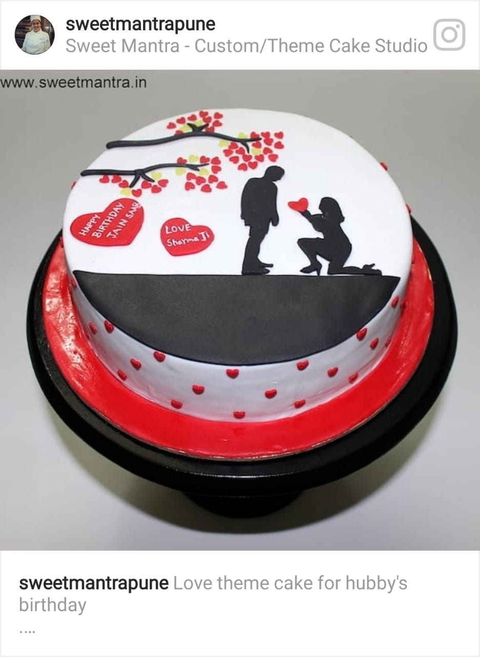 Birthday Cake For Boyfriend Image By Anita Rao On Life Cake For
