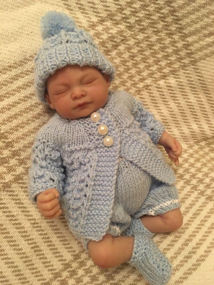 Details About Hand Knitted Clothes Outfit To Fit 10 Inch Baby Doll Knitted Baby Clothes Knitted Girl Doll Baby Dolls