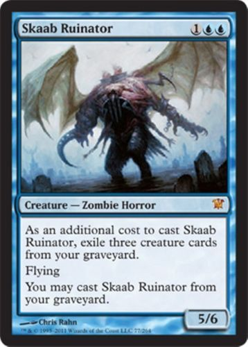 mtg blue zombies deck magic the gathering rare cards geralf skaab