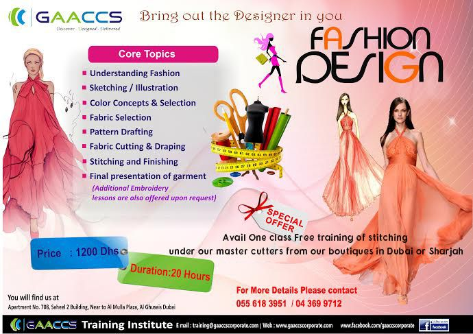 What Subjects To Choose In Fashion Designing Fashion Design Design Embroidery Lessons