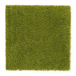 Hampen Rug High Pile Bright Green Room Rugs Room And