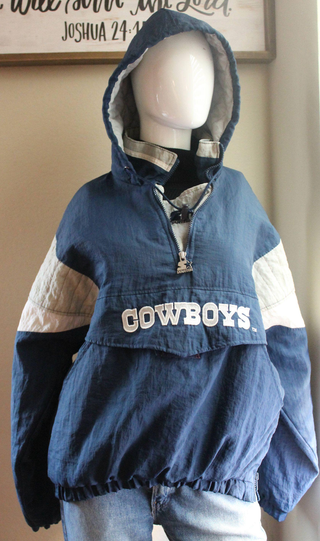 online store a7947 cf067 True Vintage Dallas Cowboys NFL Starter Pullover Starter ...
