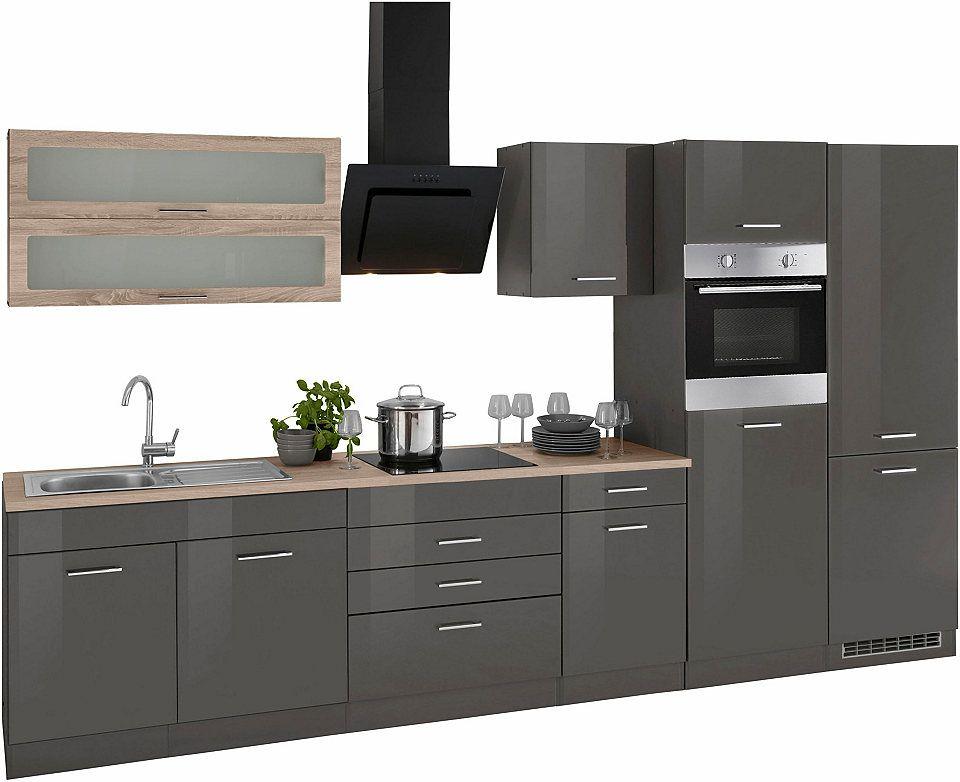 Held Möbel Küchenzeile ohne E-Geräte »Utah«, Breite 350 cm Jetzt ...