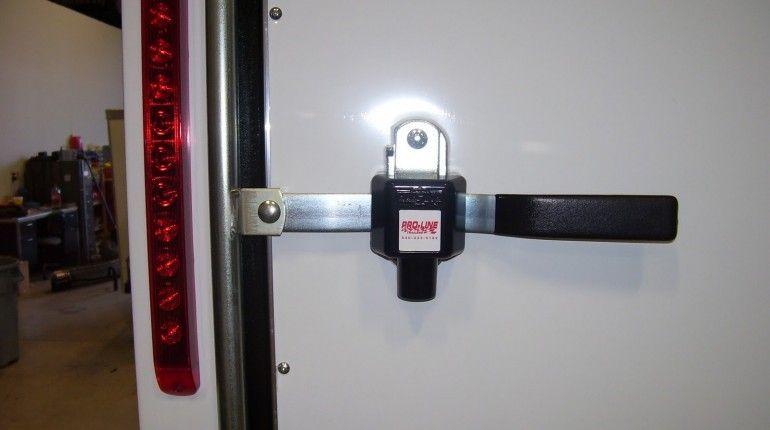 Fancy pace american trailer rear door handles door handle