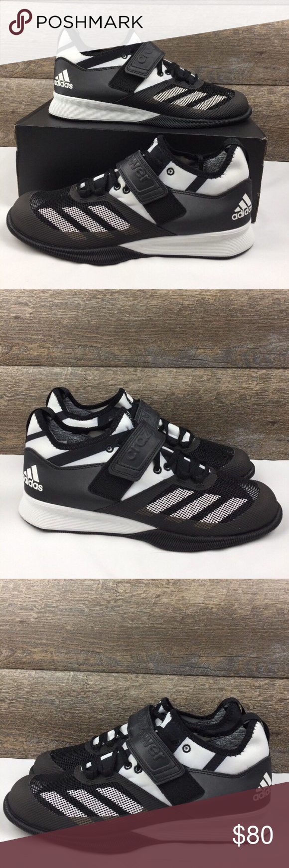 a376b0c818e7 Adidas Performance Crazy Power Weight Lift Shoes Style   BA9169 Brand new  With Box Powerlifting Shoes adidas Shoes Athletic Shoes