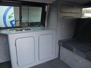 Convert Your Van Ltd   VW Caravelle Camper Conversion And Furniture Kits