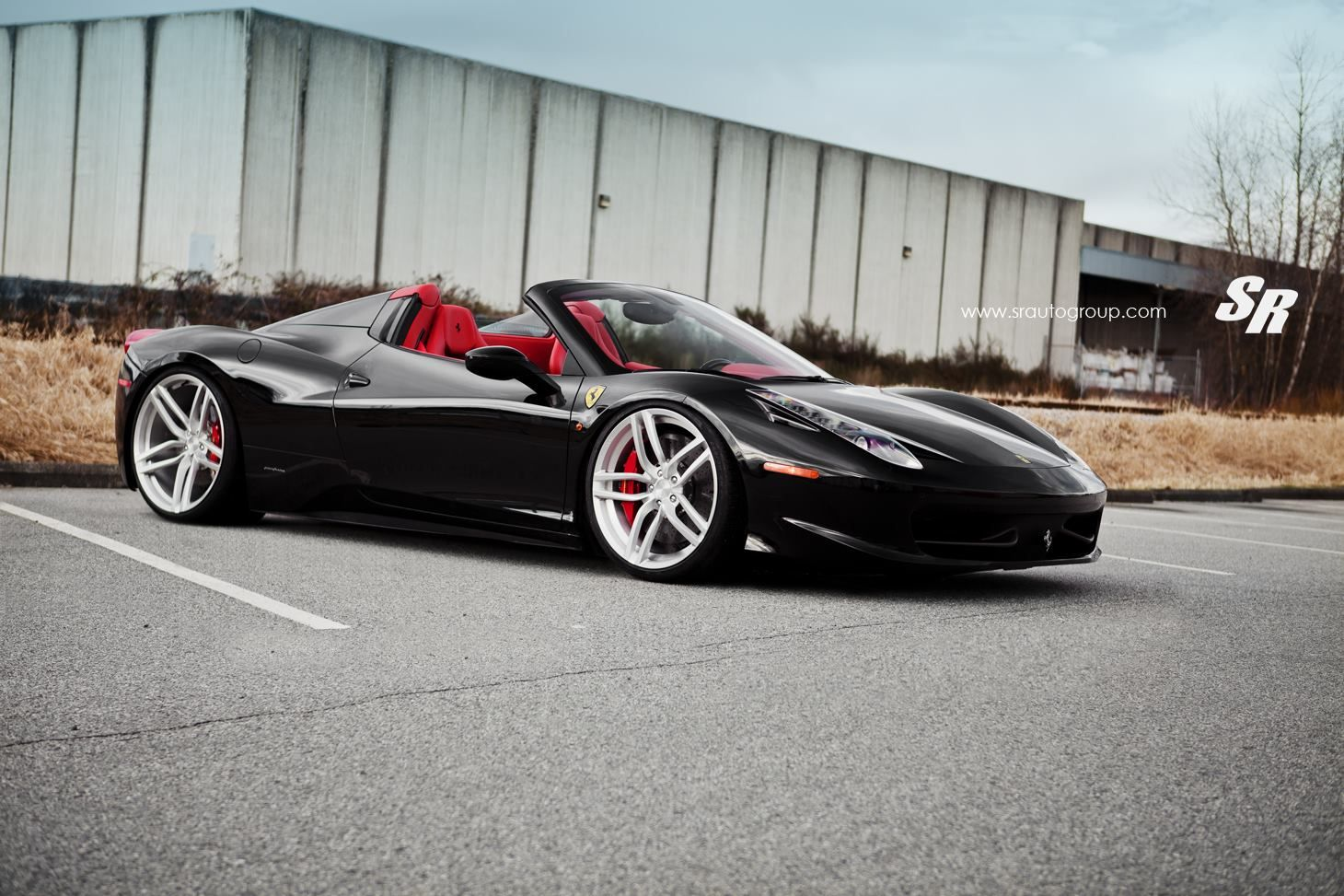 Merveilleux Vehicle · Nero Daytona Ferrari 458 Spider ...