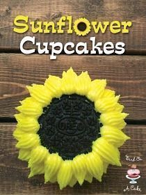 Photo of Cute Sunflower Cupcakes #sunflowercupcakes Cute Sunflower Cupcakes #sunflowercup…