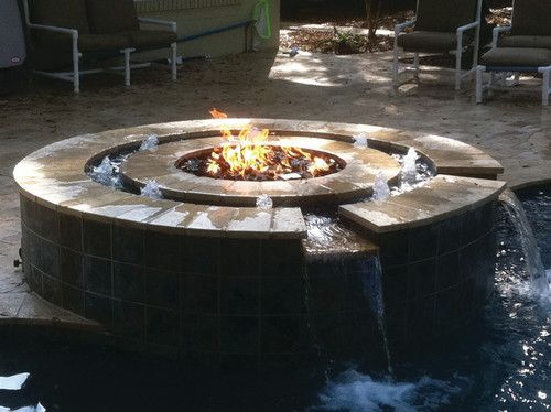 Pool Accessories 3 Outdoor Fire Pit Indoor Fire Pit Water Fountain