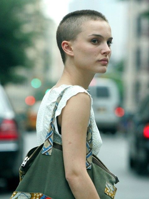 Natalie Portman with out hair still hot #stacey l.