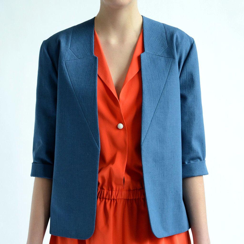 Mrs April jacket By Sanne Jansen