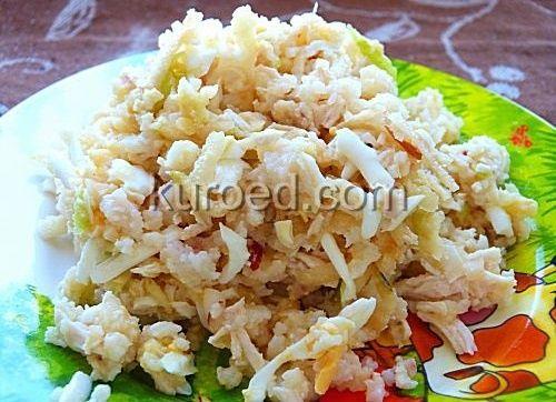 салат с крилем рецепт с фото
