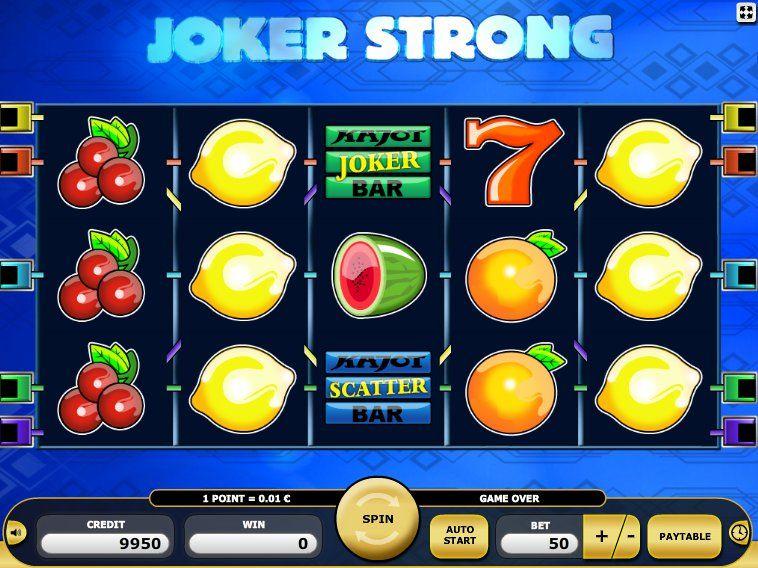 Jetzt ausprobieren online Automaten Spiel Joker Strong - http://freeslots77.com/de/kostenloser-online-spielautomat-joker-strong/