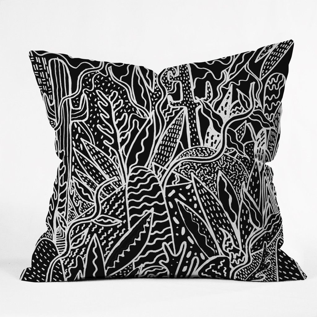 Kris Tate The Garden Throw Pillow | DENY Designs Home Accessories