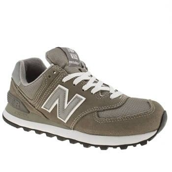 new balance dames kaki