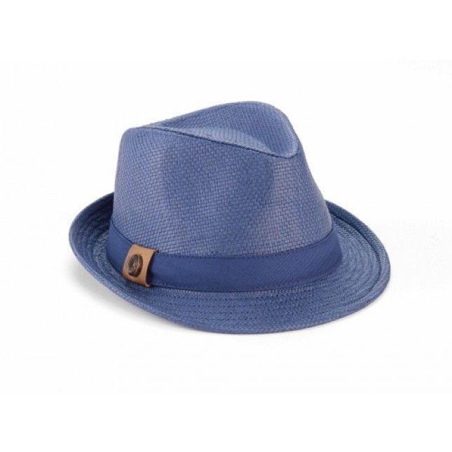 new - OLD NAVY - baby boy - FEDORA - hat - STRAW - size 0