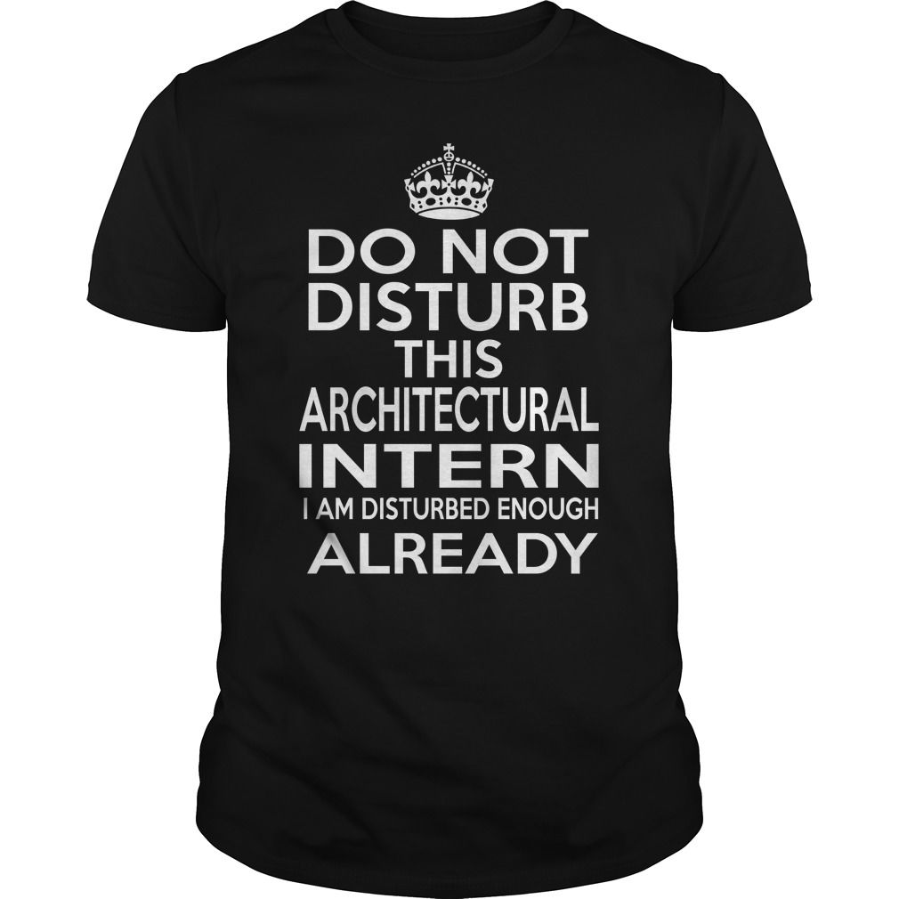 ARCHITECTURAL INTERN - DISTURB T4 - ARCHITECTURAL INTERN - DISTURB T4 (intern Tshirts)