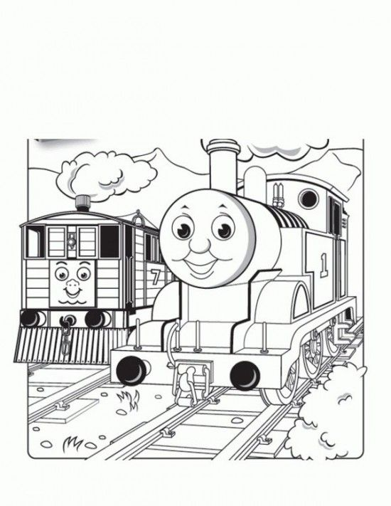 Thomas The Train Coloring Pages Picture 34 | Busy bags | Pinterest