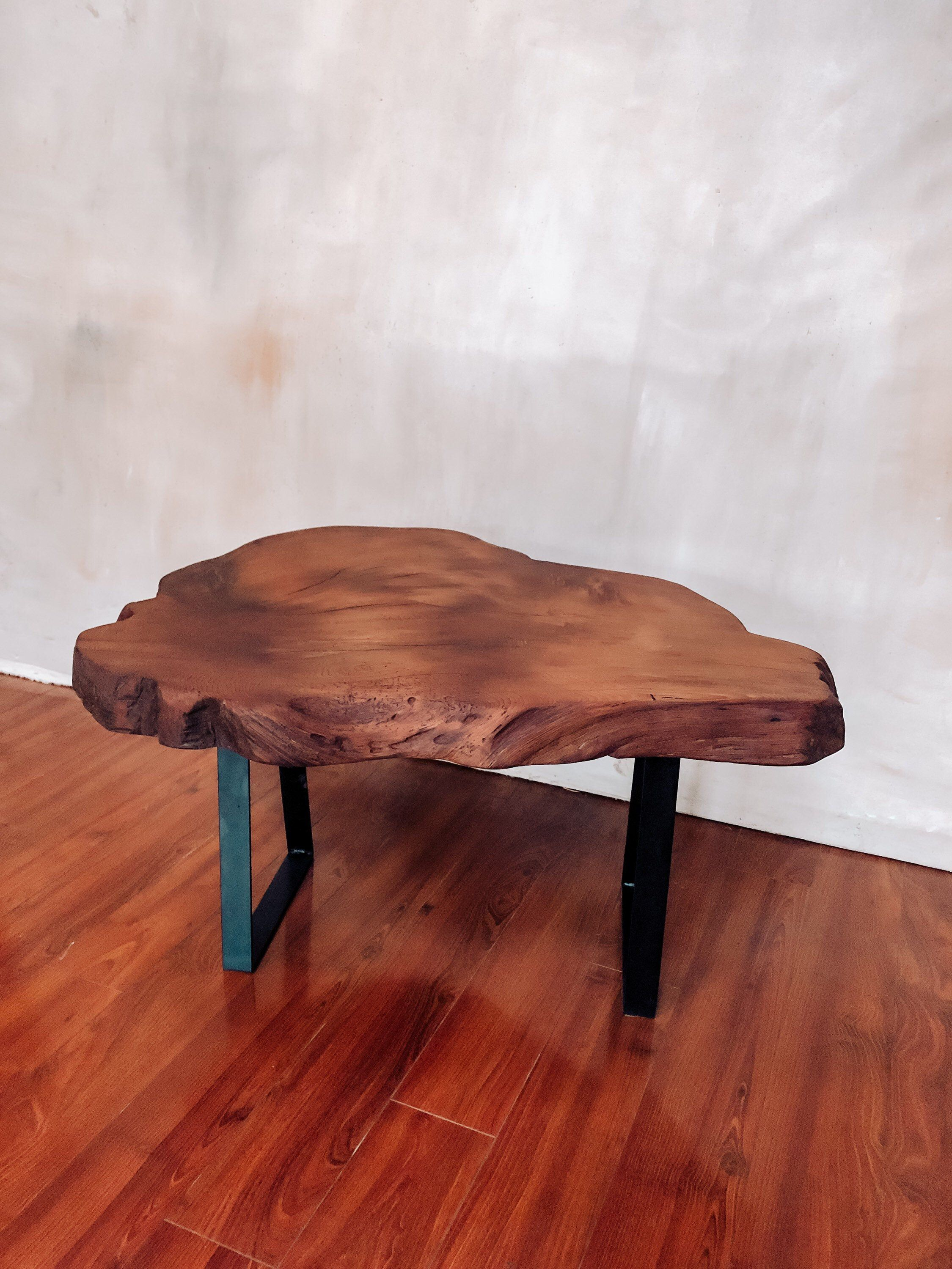 Coffee Table Redwood Table Live Edge Table End Table Etsy In 2020 Coffee Table Custom Coffee Table Live Edge Coffee Table