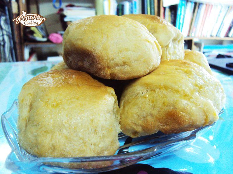 Sweet potato buns of mines :)