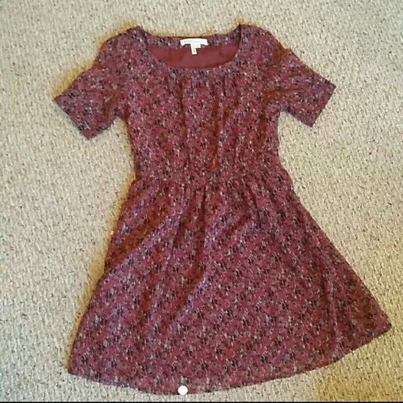 BCBG flowery dress super cute piece for the spring/summer! wear with leggings in the fall/winter! :) BCBG Dresses