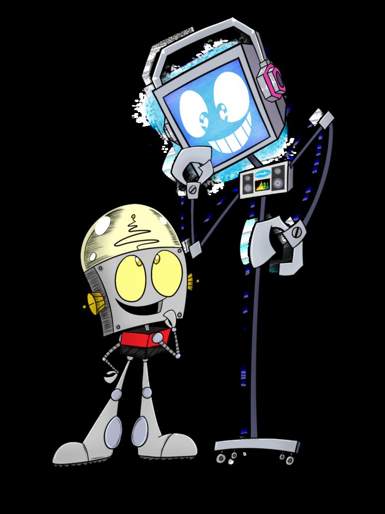 Robot jones characters