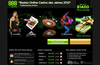 888 Casino Testbericht