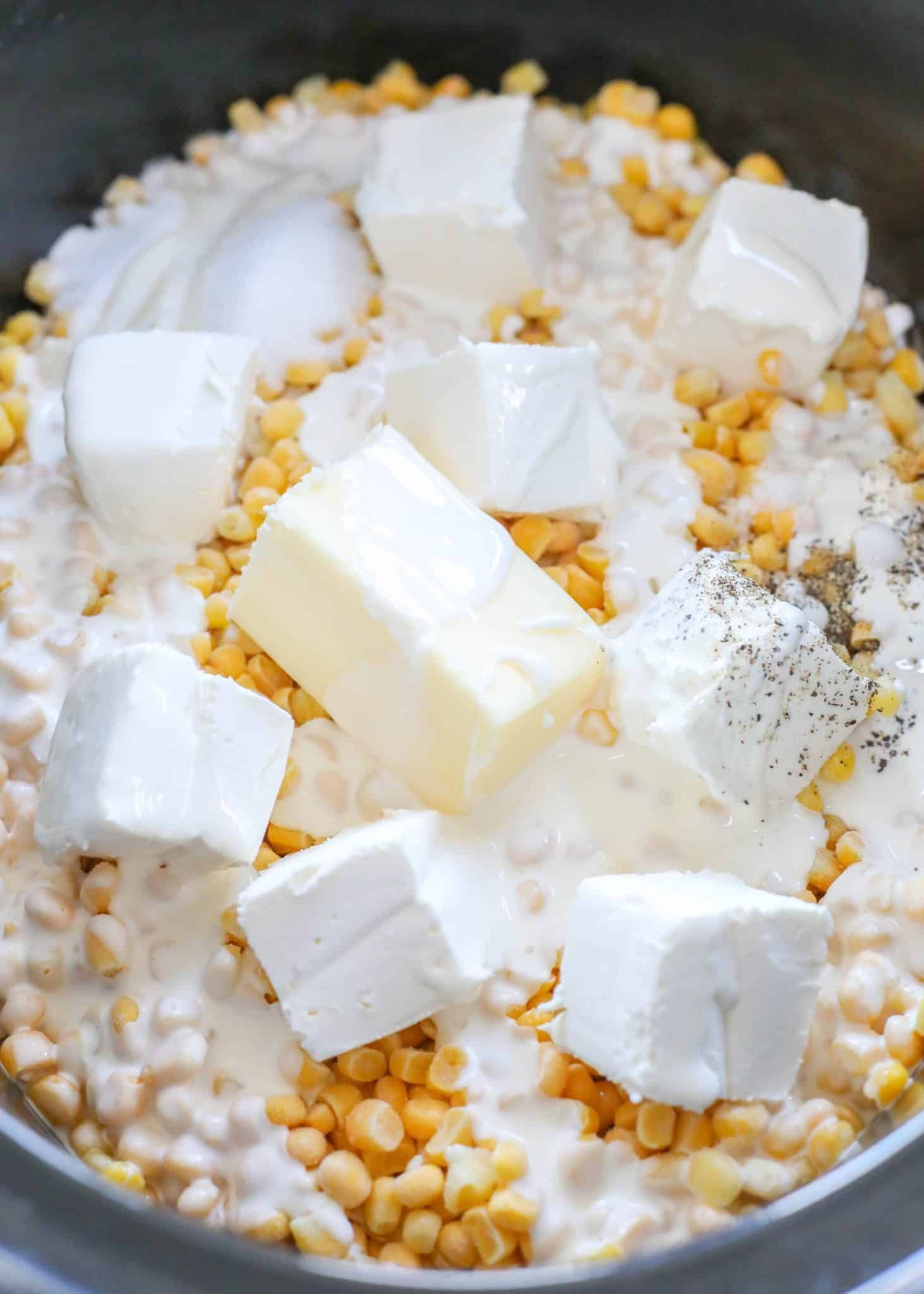 Rudys Slow-Cooker Creamed Corn