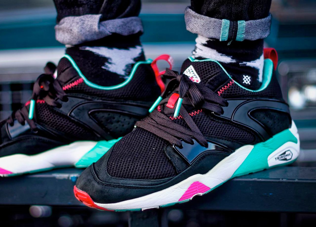 Running shoes · sweetsoles: Sneaker Freaker x Puma Blaze of Glory ...