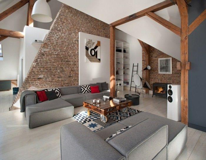 Cool Loft Wohnung Einrichtungsbeispiele Wohnideen Deko Ideen Offene  Raum6  Check More At Https:/