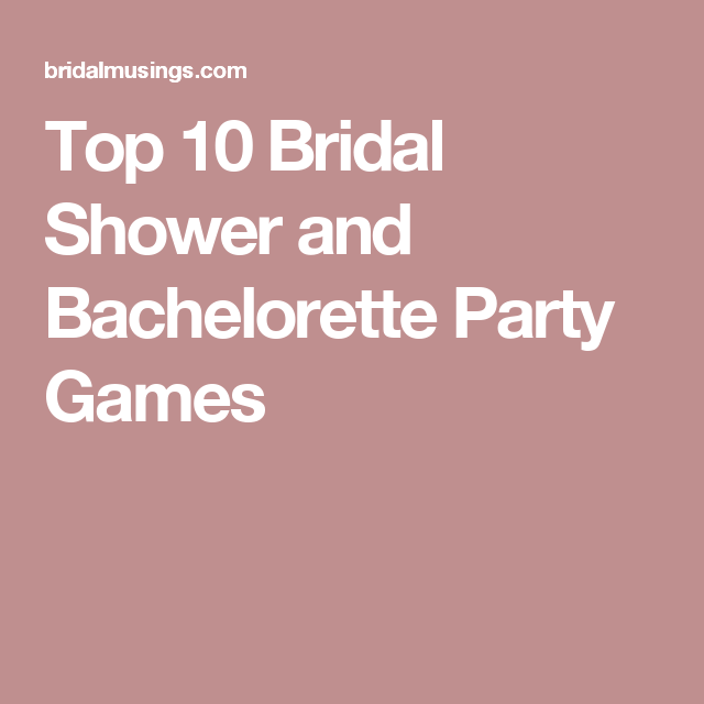 Mr Mrs Questions For Hen Do: Top 10 Bridal Shower And Bachelorette Party Games