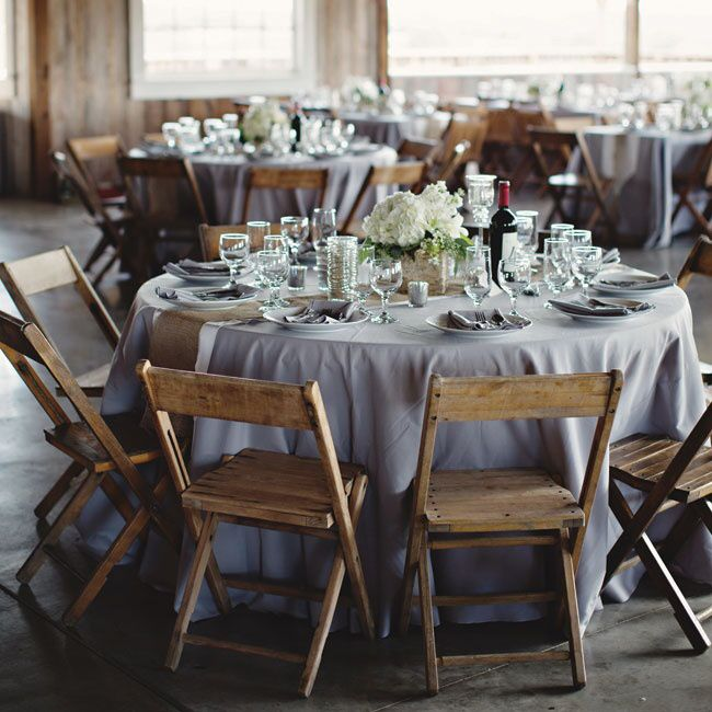 Gray Tablecloth Grey Tablecloths Wedding Rustic Farm Reception Free