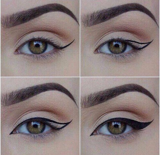 fascinantes maneras de delinear tus ojos maquillaje