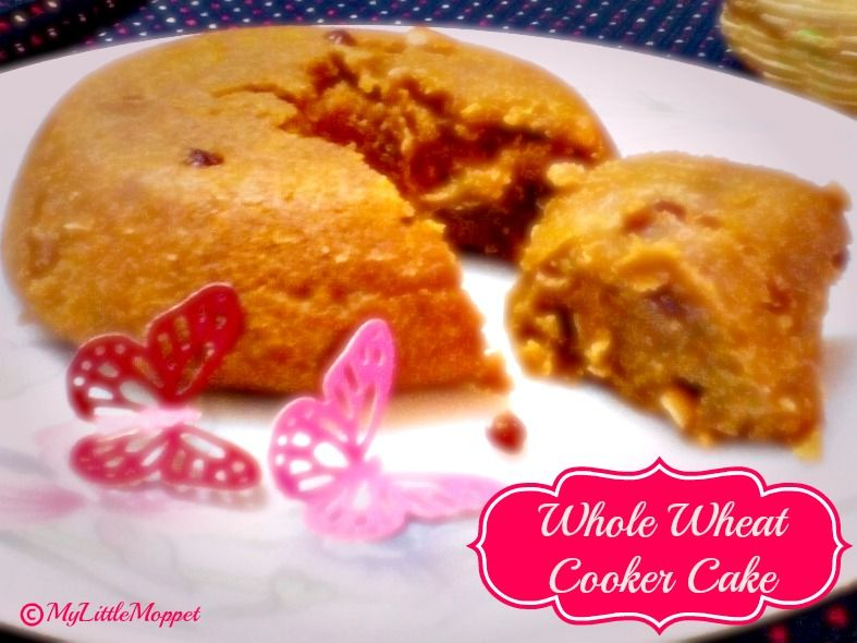 Whole Wheat Eggless Cooker Cake Recipe Toddler Food Recipes