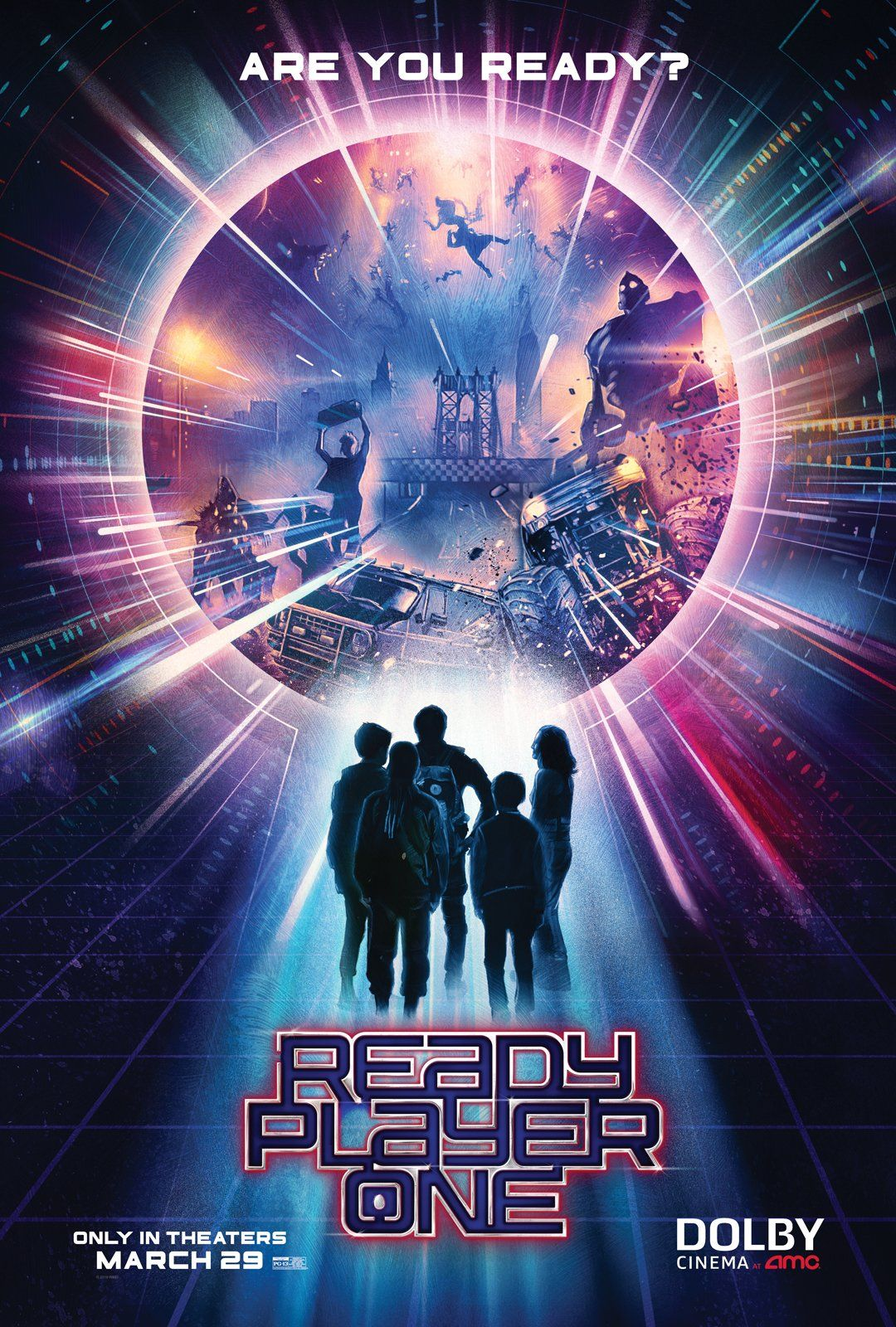 2 New Posters And 9 Photos For Ready Player One Offer A New Glimpse At The Oasis Geektyrant Ready Player One Movie Ready Player One Player One